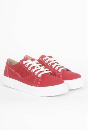 Zapatillas-Habas-Rojo